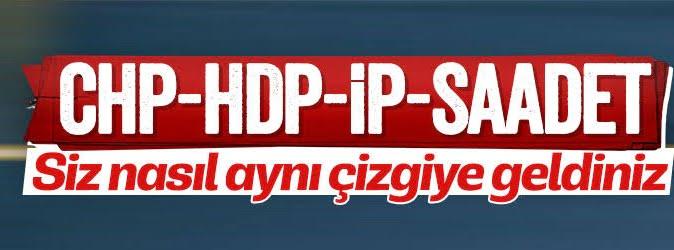 CHP, İYİ Parti, SP ve HDP'den federasyon anayasası