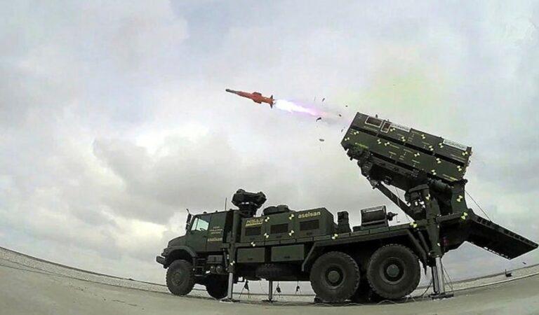 """Hisar-A+"" Alçak İrtifa Hava Savunma Sistemi"